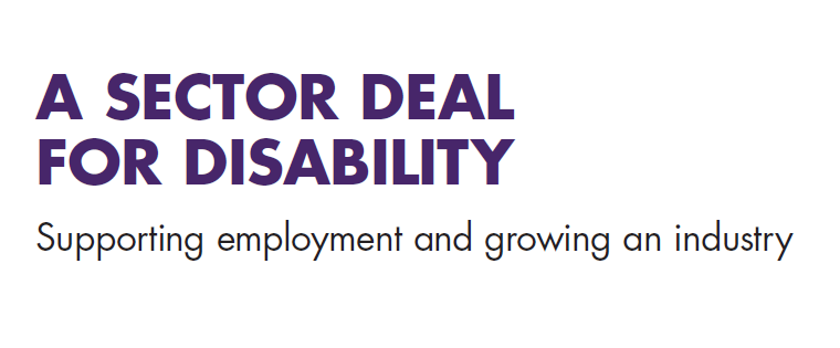 A sector deal for disability