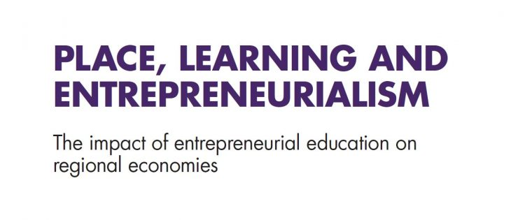 Place, learning and entrepreneurialism